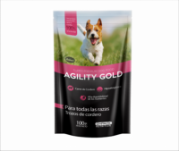 Agility Gold Perros Pouch Cordero 100 Gr